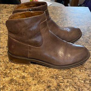 Franco Sarto Huxley Brown Chelsea Boots 9